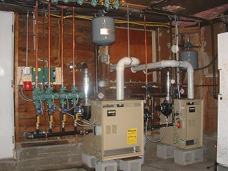 Installation Manual for Buderus G115 Direct Vent Oil Boilers